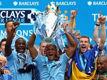 リーグ史上最高のシーズンの幕引き。'13-'14プレミアベストイレブン発表。<Number Web> photograph by Getty Images