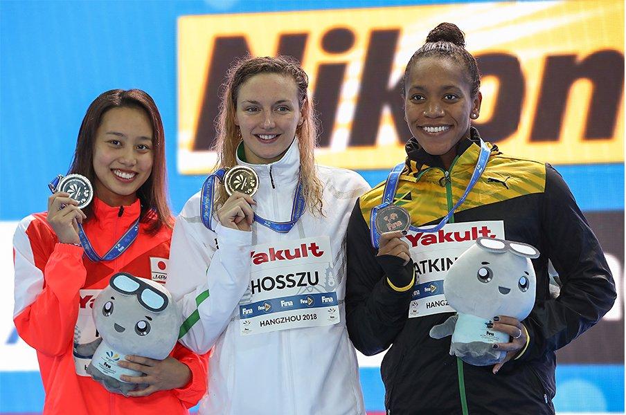 水泳の賞金が高騰している理由。連盟の求心力と、他競技との競争。<Number Web> photograph by Getty Images