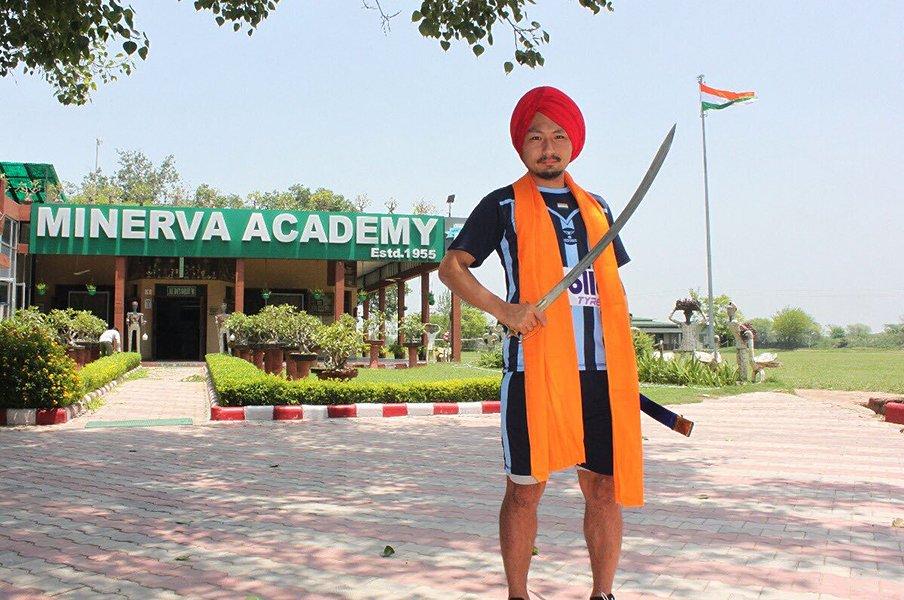 インドリーグの日本人サッカー選手、久保木優は「ACLでJと戦いたい」。<Number Web> photograph by Minerva Punjab FC
