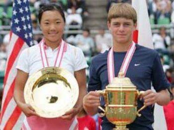 日本テニスの後継者、奈良くるみという存在。<Number Web> photograph by Hiromasa Mano