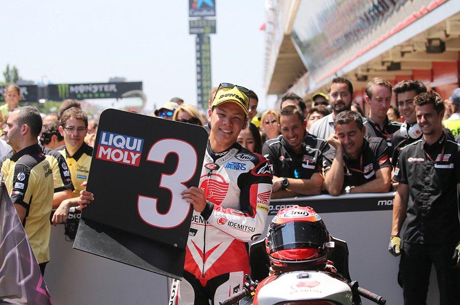 ホンダ・中上貴晶が今季初の表彰台。MotoGPシート獲得への条件とは?<Number Web> photograph by Satoshi Endo