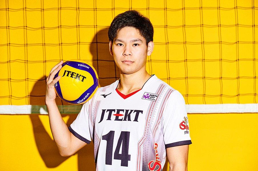 修行僧のような20歳・西田有志。日本バレーの次代を担う責任感。<Number Web> photograph by Ichisei Hiramatsu