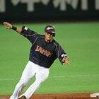 全打席出塁で打線の光明となった中田翔。