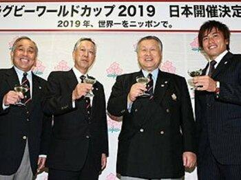 2019年ラグビーW杯は日本に!アジア初のホスト国の栄誉と宿題。<Number Web> photograph by Getty Images