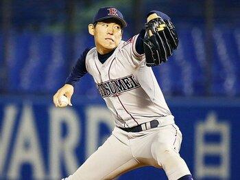 あいさつ代わりには衝撃が強すぎる。巨人1位・桜井俊貴の18奪三振ショー。<Number Web> photograph by Kyodo News