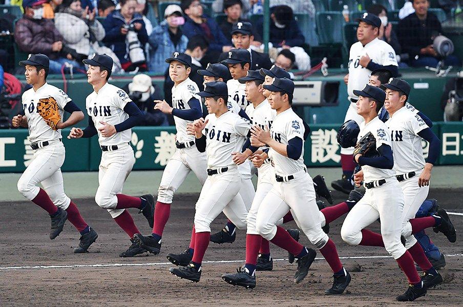 甲子園優勝の意味を知り尽くす2校。大阪桐蔭と東海大相模の特別さ。<Number Web> photograph by Kyodo News