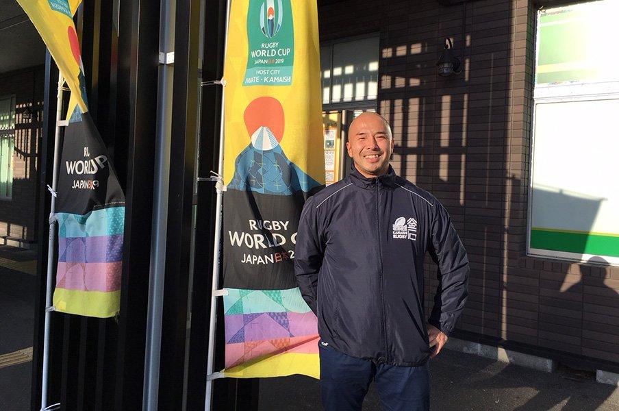 釜石は「ラグビー人口100%」。W杯開催地とラガーマンたちの絆。<Number Web> photograph by Ayako Oikawa