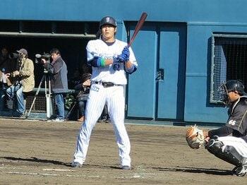 """球界最強のモノマネ王が引退――。DeNA高森勇旗の""""ビミョー""""な去り際。<Number Web> photograph by Hidenobu Murase"""