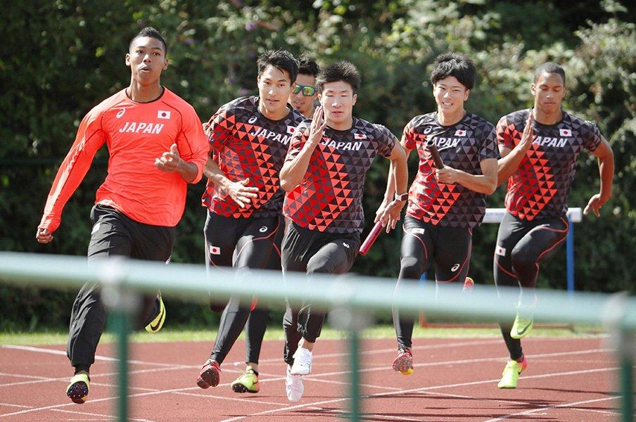 ボルト不安説と新鋭の台頭、日本勢。世界陸上100mは世紀のレースに!<Number Web> photograph by Kyodo News