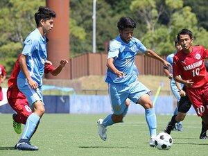 サッカーで輝く「切磋琢磨」の物語。インハイ8強・桐光学園2年生コンビ。