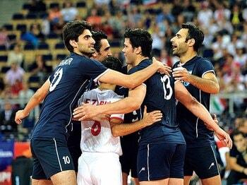 急成長するイランから日本が学ぶべきこと。~男子バレー、五輪出場への難敵~<Number Web> photograph by Getty Images