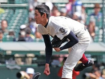 史上最長身優勝投手となった大阪桐蔭の藤浪は、全試合で150km台を記録。