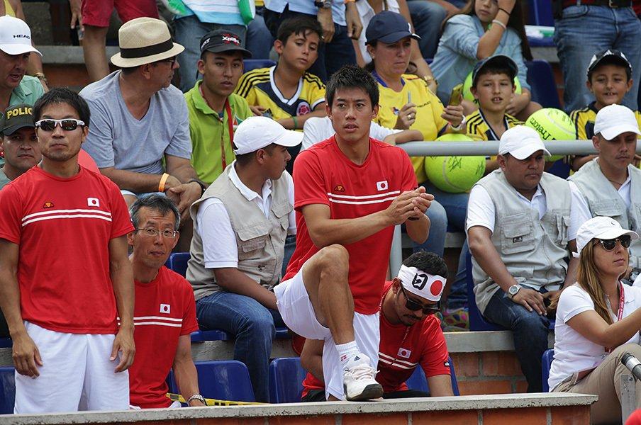 錦織圭はリーダーとしても一流?チームの空気を軽くする「ゆるさ」。<Number Web> photograph by Hiromasa Mano