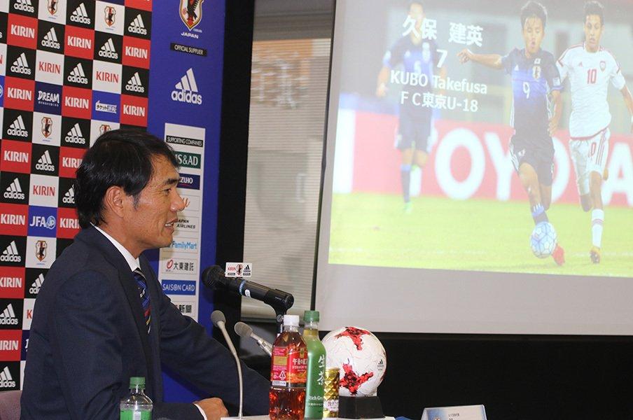 攻撃は世界上位だが守備は緊急事態!サッカーU-17代表選手発表の裏側。<Number Web> photograph by Takahito Ando