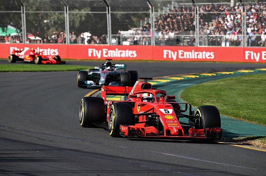 F1開幕戦で、驚愕の逆転劇発生!人間のミスの連鎖が生んだドラマ。<Number Web> photograph by Getty Images