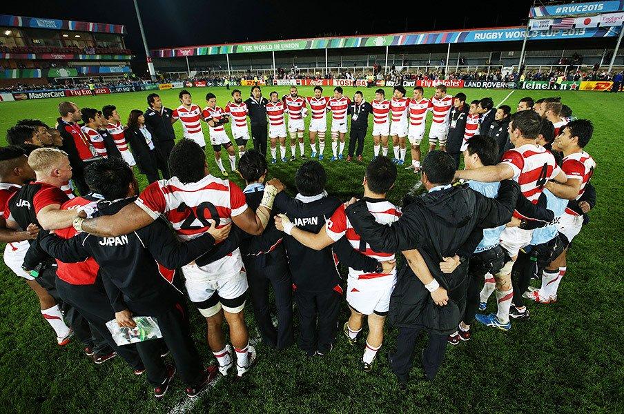 """米国戦でも誇り高く戦ったジャパン。""""史上最強の敗者""""堂々とW杯を去る。<Number Web> photograph by World Rugby via Getty Images"""