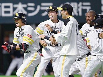 日本一へ「やられたままはイヤ」。千賀滉大、タイトルより登板の信念。<Number Web> photograph by Kyodo News