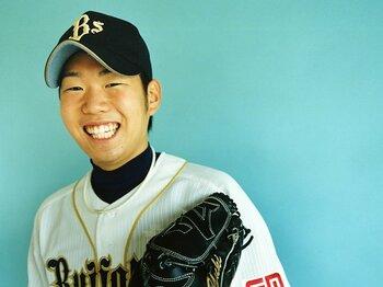 <オリックスの若き右腕> 西勇輝 「いつも笑顔でナイスピッチング」<Number Web> photograph by Kosuke Mae