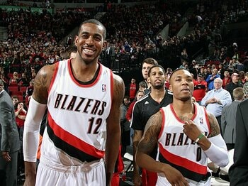 悩めるオルドリッジに訪れた幸福の日々。~NBA、好調ブレイザーズの大黒柱~<Number Web> photograph by Getty Images