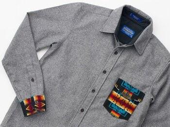 秋のアウトドアシーズン到来。ウールの新柄ワークシャツで街でも山でも目立っちゃえ!!<Number Web> photograph by Nanae Suzuki
