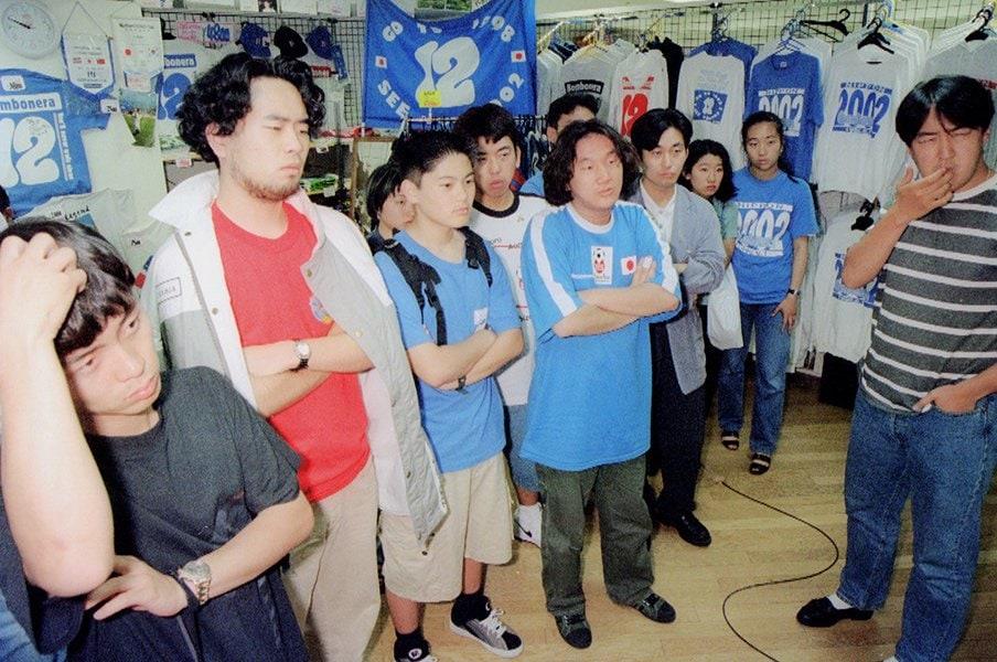 日韓W杯の招致が決まった日。「共催」への落胆と本大会の熱狂。<Number Web> photograph by Kyodo News