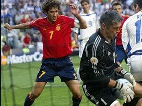 ゴールが遠かったスペイン