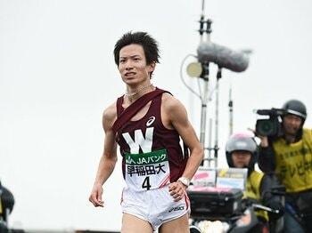 早稲田は5区山上りで勝負!山本修平が2年分の意地を見せる。<Number Web> photograph by Nanae Suzuki