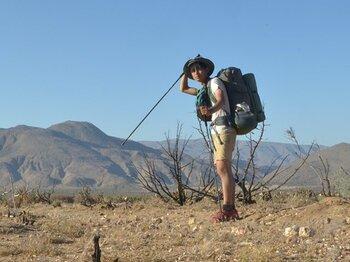 メキシコ国境からPCTハイク開始!ガラガラヘビ&エンジェルと出会う。<Number Web> photograph by Yusuke Ide