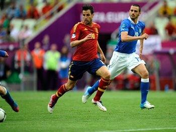 圧倒的有利のスペインとどう戦う?ユーロ決勝Tのライバル国を検証する。<Number Web> photograph by Takuya Sugiyama