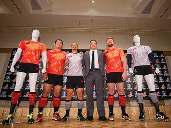 世界と戦う日本ラグビー、サンウルブズ。新ヘッドコーチとチーム陣容を検証。<Number Web> photograph by Yohei Osada/AFLO SPORT
