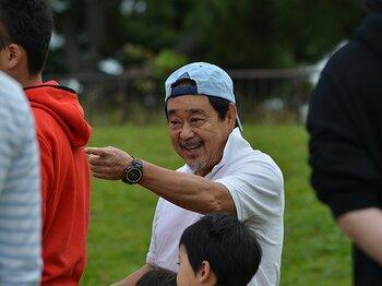 「スポーツの本質は遊びでしょう?」ラグビー伝説の名将・春口廣の今。<Number Web> photograph by Masataka Tara