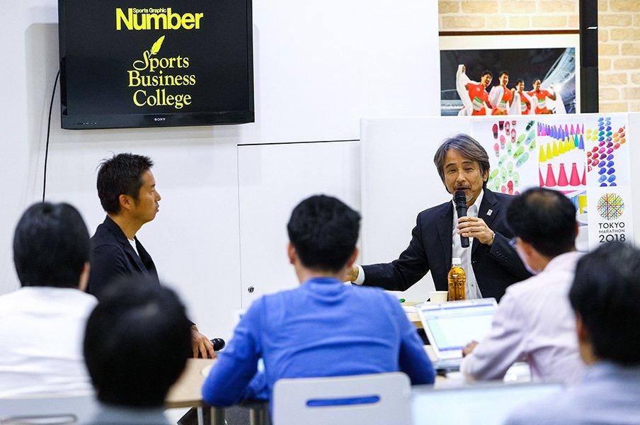 """ランを""""ブーム""""で終わらせないために。東京マラソン仕掛け人・早野氏の発想。<Number Web> photograph by Kiichi Matsumoto"""