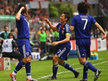 オシムも認めたイングランドとの善戦!内容は「判定勝ちしていたかも」。<Number Web> photograph by Getty Images
