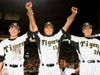 ベテランだけに任せておけない!!阪神快進撃を支える若虎たちに注目。<Number Web> photograph by NIKKAN SPORTS