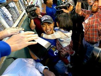 ロイヤルズ旋風とGMの手腕。~ワイルドカードからのリーグ優勝~<Number Web> photograph by Getty Images