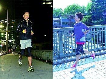<効率よくランニングを> 大会を楽しむための忙しい人に教える「朝ラン」&「夜ラン」調整法。<Number Web> photograph by Atsushi Hashimoto