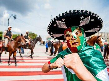 """「トップ8」の壁が日本を苦しめる――。メキシコの""""レジェンド""""の不吉な予言。<Number Web> photograph by Atsushi Kondo"""