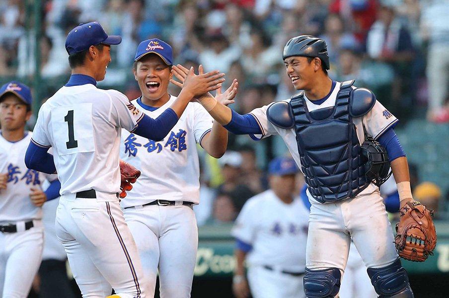 甲子園で見つけた捕手、野手たち。柳田・大谷の影響で打撃に変化が?<Number Web> photograph by NIKKAN SPORTS