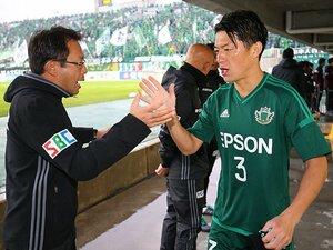 """田中隼磨が抗った壮絶な引退危機。松本山雅ファンの声援が""""熱""""の源。"""
