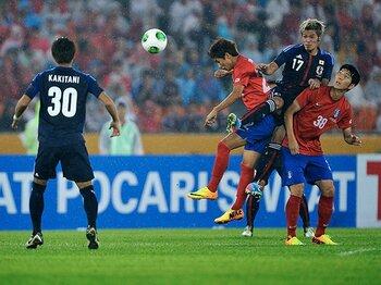 """東アジアカップで躍動した""""国内組""""。ロンドン五輪世代、A代表への道程。<Number Web> photograph by Takuya Sugiyama"""