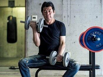 <55歳が2カ月でマイナス7kg!> なぜ赤井英和はダイエットに目覚め、成功できたのか。<Number Web> photograph by Takuya Sugiyama