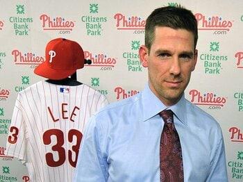 クリフ・リーとフィラデルフィア。~23億円以上を袖にした「決断」~<Number Web> photograph by Getty Images