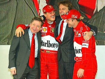 また一人、F1を熟知する者が去った。跳ね馬の重鎮モンテゼモーロが辞任。<Number Web> photograph by AFLO