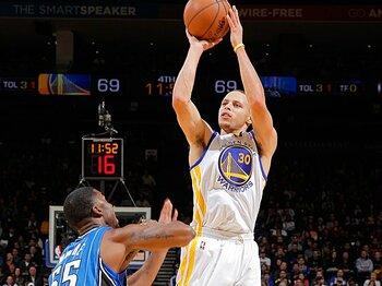 NBA屈指のシュート力を持つカリーの究極の目標は、3P成功数で歴代1位になること。