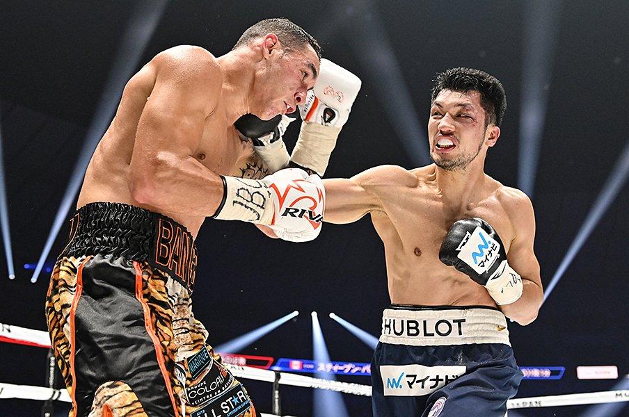 村田諒太のボクシングが完成した。5RKOで初防衛、視線は本当の頂点へ。<Number Web> photograph by Hiroaki Yamaguchi