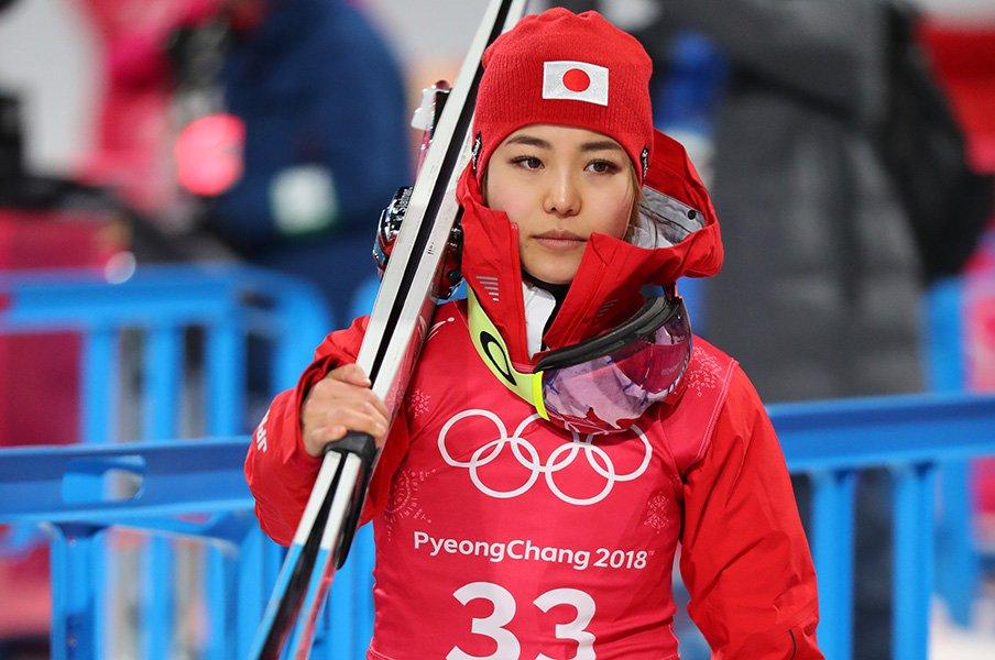スキージャンプの「台と風」問題。高梨、伊藤らが語る平昌の難しさ。<Number Web> photograph by Ryosuke Menju/JMPA