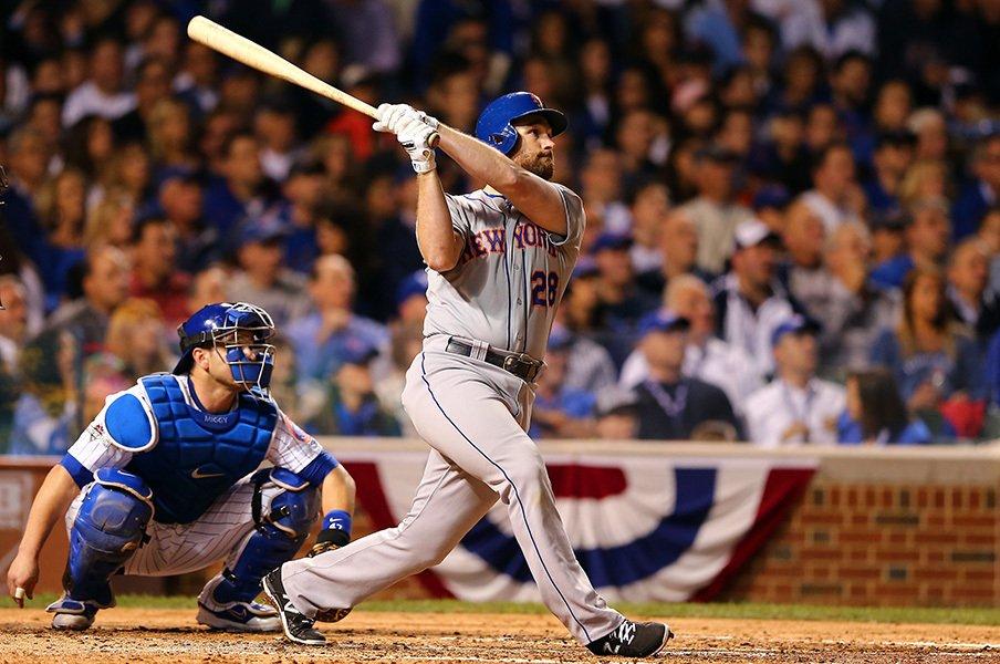 短期決戦とラッキーボーイ。~マーフィの6試合連続本塁打~<Number Web> photograph by Getty Images