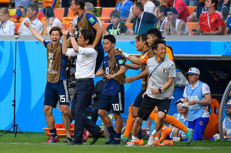 香川が呼んだ必然のPK+一発退場。コロンビアを脅かした「強い選択」。<Number Web> photograph by Takuya Sugiyama/JMPA