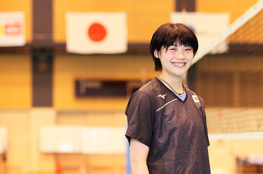 """日本女子バレー若きエース候補。黒後愛が""""黒後愛""""の殻を破るとき。<Number Web> photograph by Shigeki Yamamoto"""