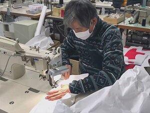 モンベルが不織布で防護服を縫製。辰野会長「2300セットつくります」
